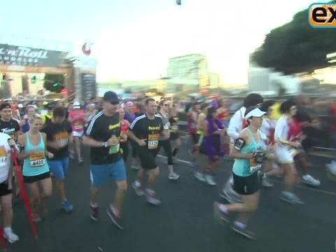 Will Ferrell Runs Marathon as Ron Burgundy