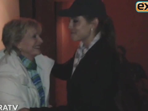 Storm Coverage: Maria Menounos Interviews Florence Henderson