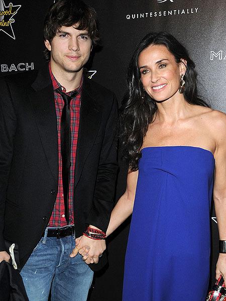 Demi Moore, Ashton Kutcher Divorce - The Hollywood Gossip
