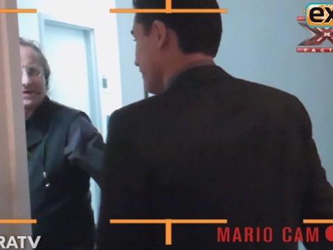 Mario Lopez's 'X-Factor' Video Diary