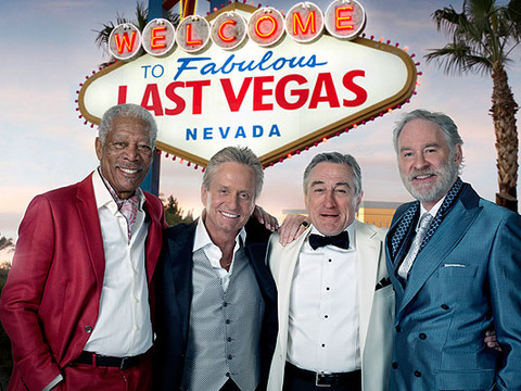 First Look! Michael Douglas and Robert De Niro in 'Last Vegas'