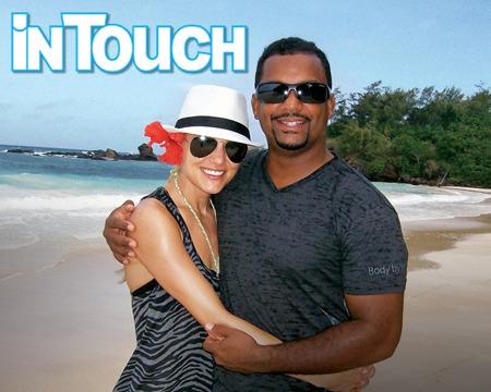 Honeymoon Pics! 'Fresh Prince' Star Alfonso Ribeiro and Wife Angela