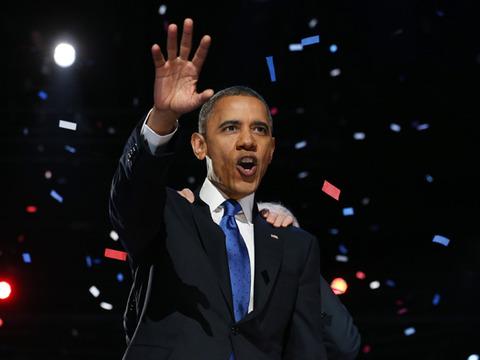 President Obama Wins, Stars React!