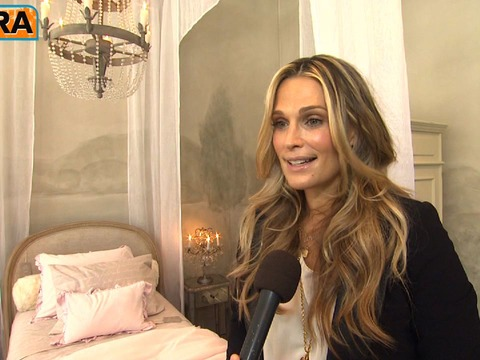 Video! Molly Sims on Decorating the Nursery