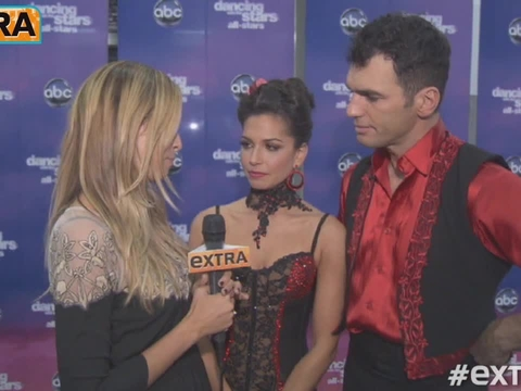 Backstage at 'DWTS: All-Stars' Week 8