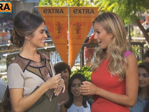 'Extra' Raw! Nikki Reed Wants You to Shower... with a Friend