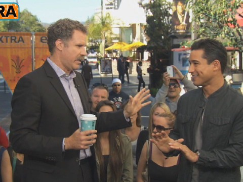 At The Grove! Will Ferrell Talks Cancer Charity