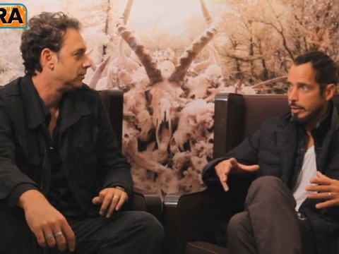 Video! Chris Cornell Talks New Soundgarden Album