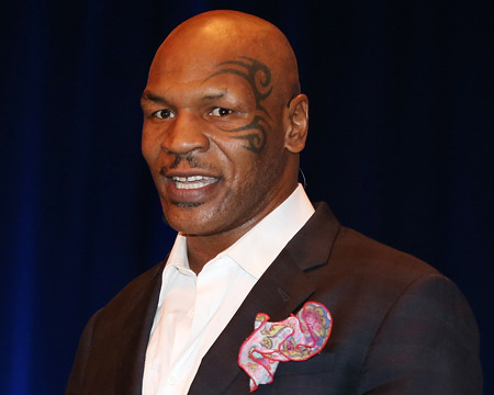 Mike Tyson 'Not Mad' at Brad Pitt for Sleeping with Ex Robin Givens