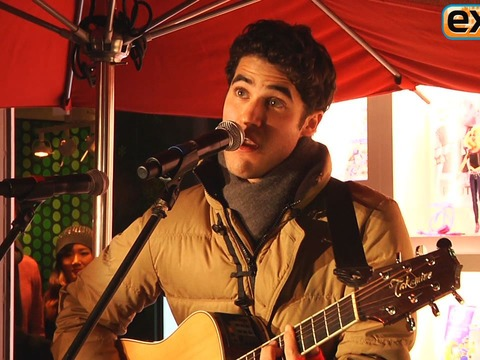 Video! 'Glee' Star Darren Criss Sings Holiday Songs for a Good Cause