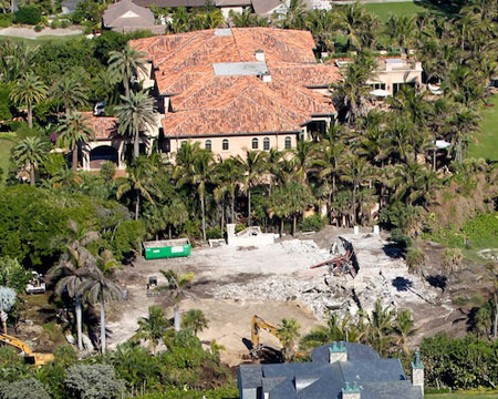 Extra Scoops: Elin Nordegren's Beachfront Mansion Under Construction