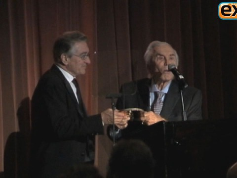 Video! Robert De Niro Receives Award from Screen Legend Kirk Douglas