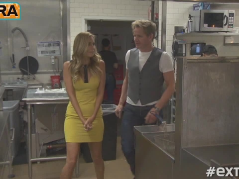 'Extra' Raw! 'Kitchen Nightmares' with Gordon Ramsay