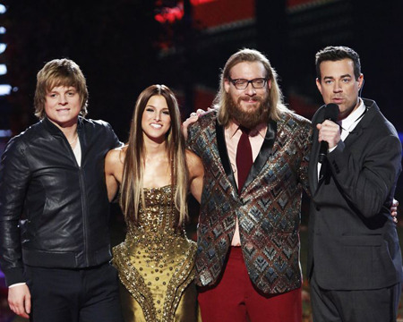 'The Voice' Crowns a Winner!