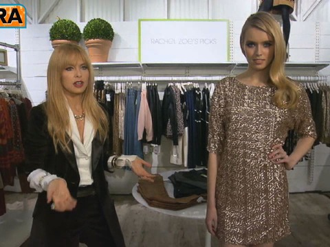 Rachel Zoe on the Little Sequined Dress