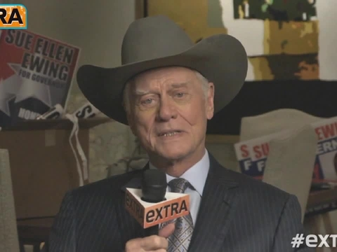 Larry Hagman's Final Interview from the 'Dallas' Set
