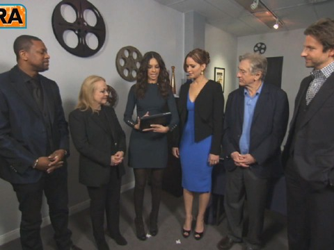 Video! Hanging with the Cast of 'Silver Linings Playbook'