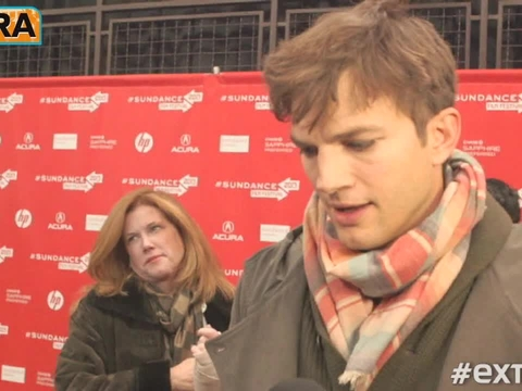 Hanging with Ashton Kutcher at the Sundance Film Festival