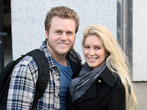 """Celebrity Big Brother"" stars Heidi Montag and Spencer Pratt posed for pictures…"