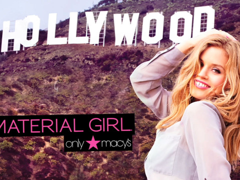 Madonna and Lola Unveil 'Material Girl Hits Hollywood'