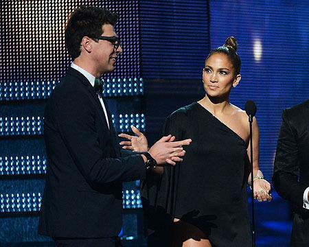 Jennifer Lopez on Saving Adele from Grammys Crasher