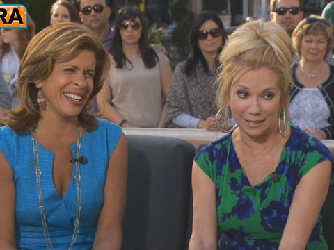 Kathie Lee and Hoda Take Over at The Grove!