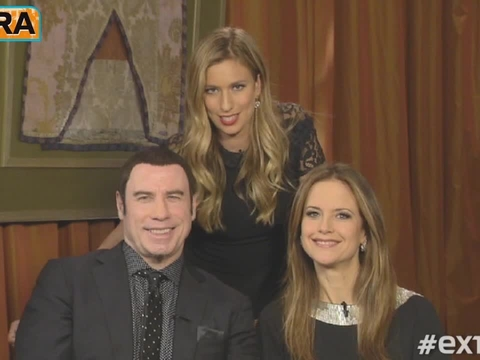 Up Close and Personal with John Travolta and Kelly Preston