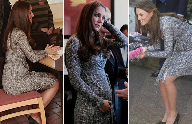 Pics Kate Middleton Shows Off Royal Baby Bump Extratv Com