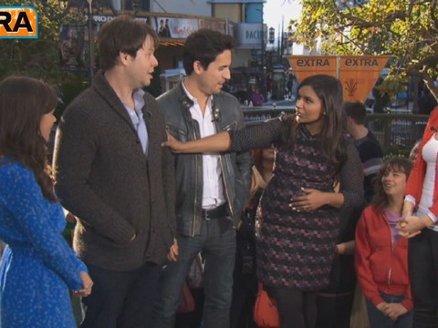 'The Mindy Project' Cast Dances at The Grove!