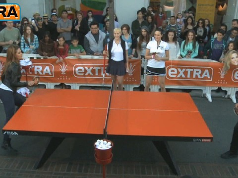 Mario vs. Maria Face-Off: The Ping Pong Challenge