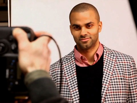 Behind the Scenes of Tony Parker's Maxim Shoot