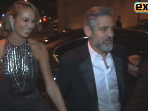 Video! George Clooney Parties After the Oscars