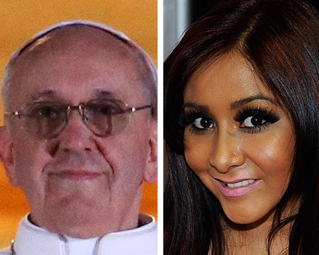 New Pope Elected… and Snooki Tweets He's 'Adorable'
