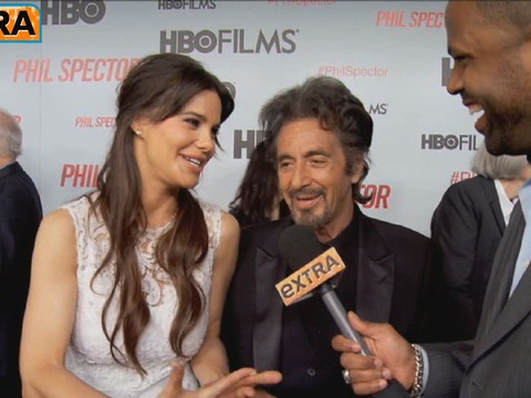 Al Pacino on the New Pope, Other Star Reactions