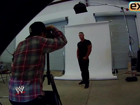 John Cena Prepares for 'WrestleMania'