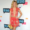 Pic! Brandi Glanville's Cleavage-Baring Red Lace Dress