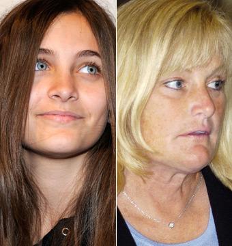 Paris Jackson Reunited with Debbie Rowe
