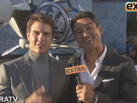 Tom Cruise on Death-Defying Stunts in 'Oblivion'