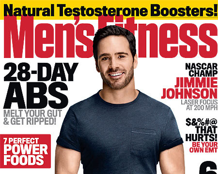 Video! NASCAR Superstar Jimmie Johnson's Workout Secrets