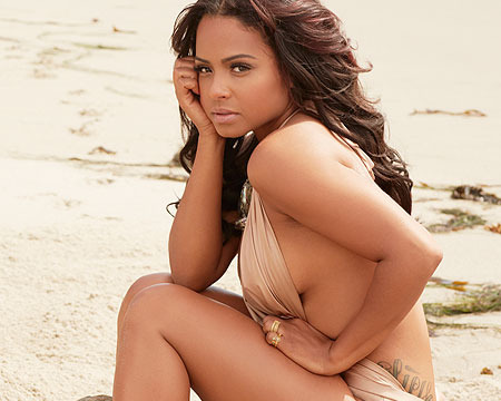 Christina Milian Shows Off Some Sexy Swimsuits