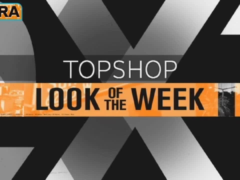 Topshop Look of the Week: Sexy Overalls and Bold Top