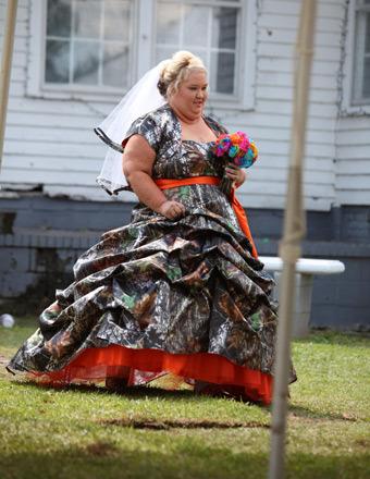 Camo And Pink Wedding Dresses 39 Simple  uHoney Boo Boo