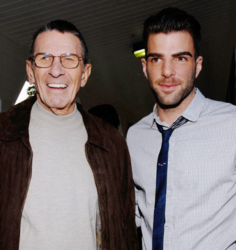 Video! Leonard Nimoy & Zachary Quinto in Battle of the Spocks