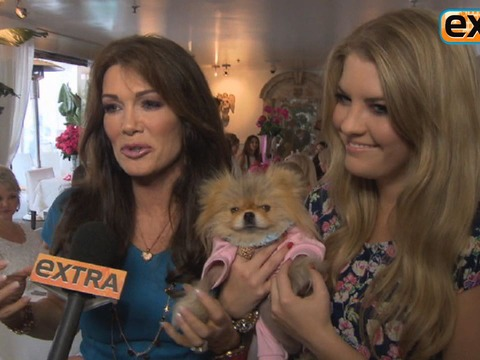 Video! Check Out Lisa Vanderpump's Mother's Day Gift