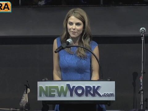Video! Maria Menounos Helps Launch NewYork.com