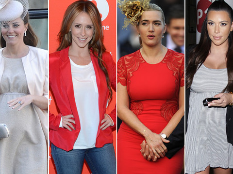 Kate Winslet and Jennifer Love Hewitt Join the Hollywood Baby Boom