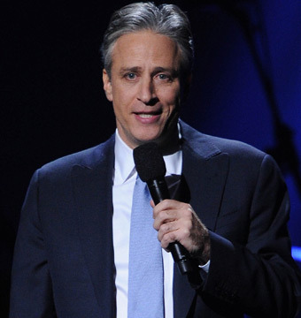 Jon Stewart's Thank-You Message to Michael Douglas