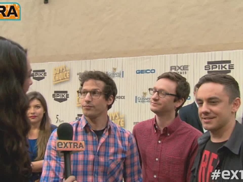 Video! On the Red Carpet at the Guy's Choice Awards
