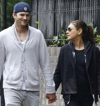 Mila Kunis and Ashton Kutcher Hit the Beach with Princess Beatrice