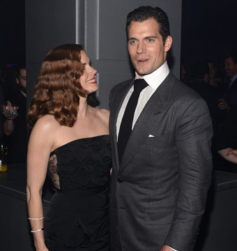 "Amy Adams and Henry Cavill attended the ""Man of Steel"" premiere after-party in…"